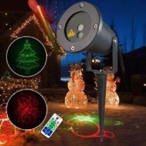 Proiettore Luci Natalizie Per Esterno Ebay.Proiettore Laser Luci Di Natale Natalizie Addobbo Natalizio Per Esterno Disegni Ebay
