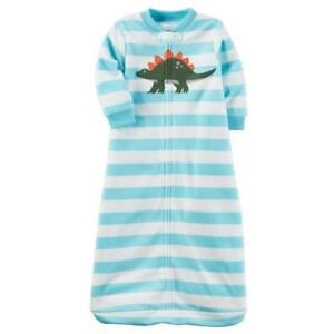6286842a68fc Details about NWT Carter s Baby Boys Fleece Sleep Sack 0-3 months Winter  Pajamas Infant Bag S