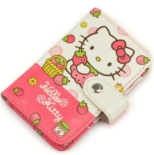 FREE SHIPPING Hello Kitty PU ID Credit Card ID Card Holder Business Card Case