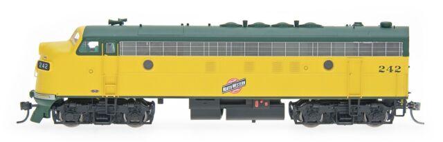 InterMountain HO 49944S Chicago & North Western CNW FP7 Locomotive DCC Sound