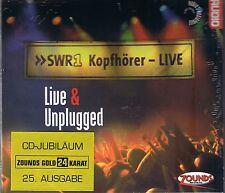Live & Unplugged Various Artists 24 Karat Zounds Gold CD NEU OVP Sealed