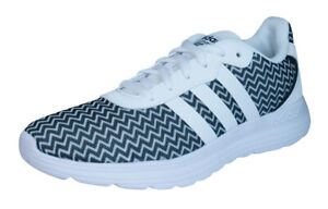 Details about adidas Neo Cloudfoam Speed Women's Running Sneakers Fitness Shoes White Black