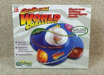 New GeoSafari World Challenge Electronic Talking Geography ...