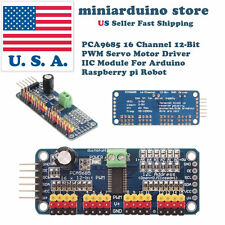 Pca9685 16 Channel 12 Bit Pwm Servo Motor Driver I2c Module For Servo Arduino Us