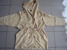 Manteau coupe vent beige Otalia micro imperméable taille 1