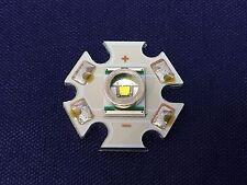 2 x Cree XREWHT-L1-0000-00C01-MCSTAR, XLamp XR-E Series White LED, 10000K