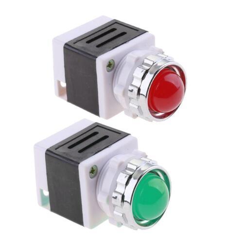 Paire De 220 V AC Indicateur Panneau Signal Pour Signaux D/'urgence