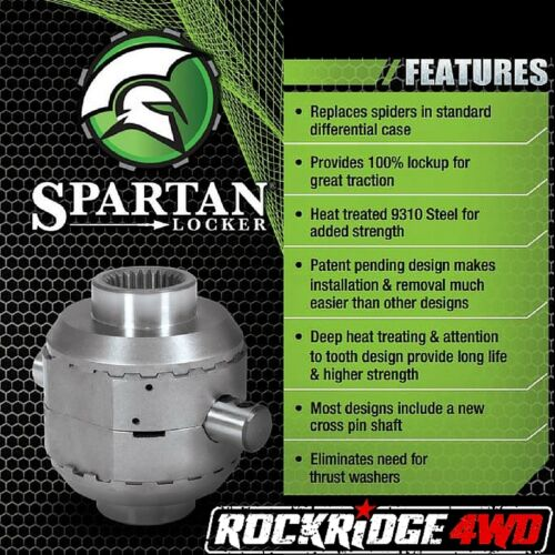 Spartan Locker for 94-06 Jeep Cherokee XJ YJ TJ LJ Dana 35 27 SplFREE GEAR