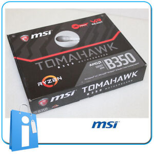 Placa-base-ATX-Ryzen-MSI-B350-TOMAHAWK-Socket-AM4-con-Accesorios
