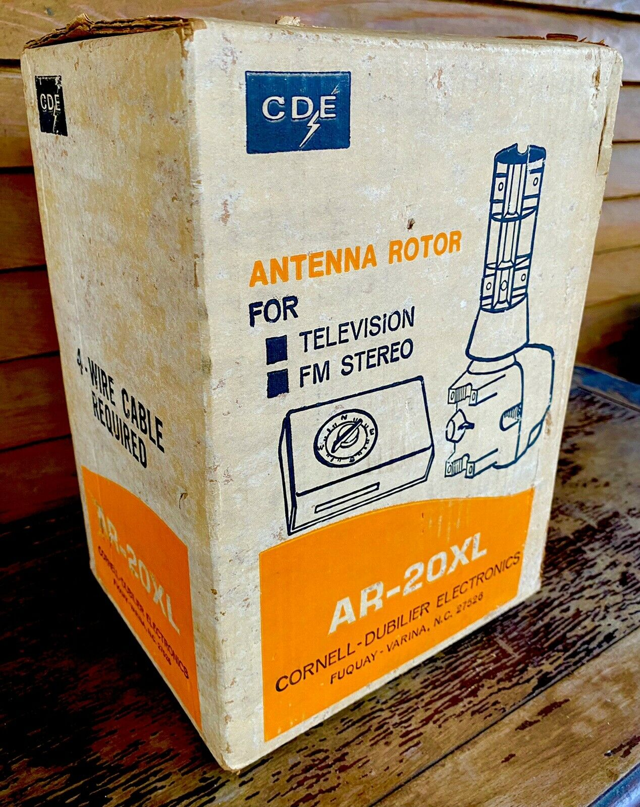 Vintage CDE Antenna Rotor AR-20XL NOS Sealed Box Ham CB Radio. Available Now for 300.00