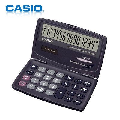 CASIO / SL-240LB / Electronic Calculators(14 Digits)