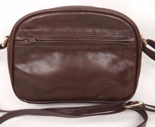 Body Shoulder Cross Handbag Sirco Bag Brown Leather Satchel qwHXW1WI48