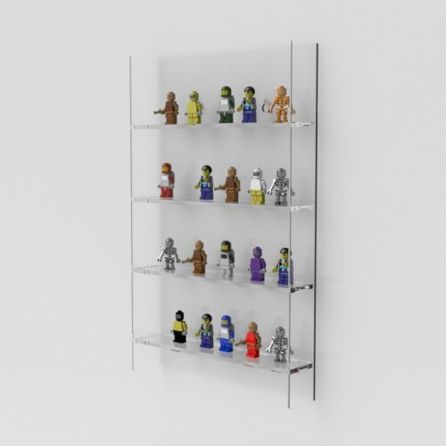 Lego Mini Figures Stand Holder Wall Mounted Lego Mini Figure Display Case