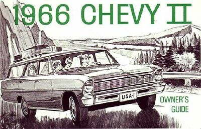 Motors Vehicle Parts & Accessories 1965 Chevrolet Chevy II Owners ...