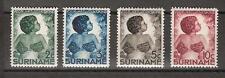 Suriname nr 179 - 182 MLH ong. kinderzegels 1936