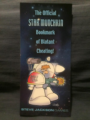 Official Munchkin Quest Bookmark of Portable Respawning Wide Version