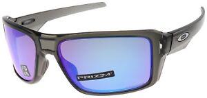 9cdbd797e7 Image is loading Oakley-Double-Edge-Sunglasses-OO9380-0666-Grey-Smoke-