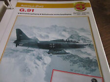 Faszination 4 1 Aeritalia Fiat G 91