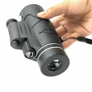 12x50 HD Night Vision Monocular Telescope+Compass Flashlight+Red Laser Hunting