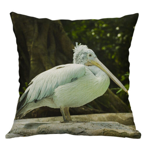 """18/"""" Pelican Pillow Case Sofa Car Waist Throw Cushion Cover Home Decoration"""