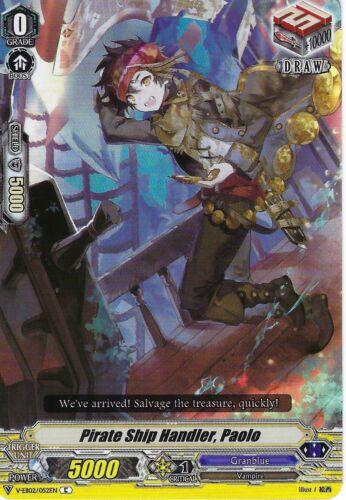 Paolo Cardfight Vanguard: Pirate Ship Handler V-EB02//052EN C Common Card