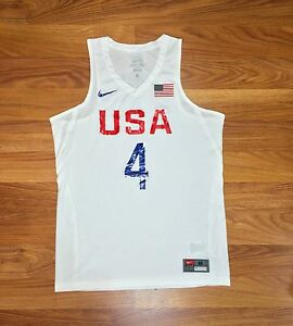 120 NIKE USA BASKETBALL STEPH CURRY 2016 OLYMPIC JERSEY WARRIORS ... 3836cb2d3