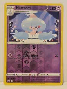 Pokemon TCG - Hattrem 072/198 Reverse Holo - Chilling Reign - Pack Fresh NM