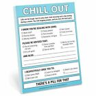 Chill Out Nifty Note by Knock Knock (Hardback, 2017)