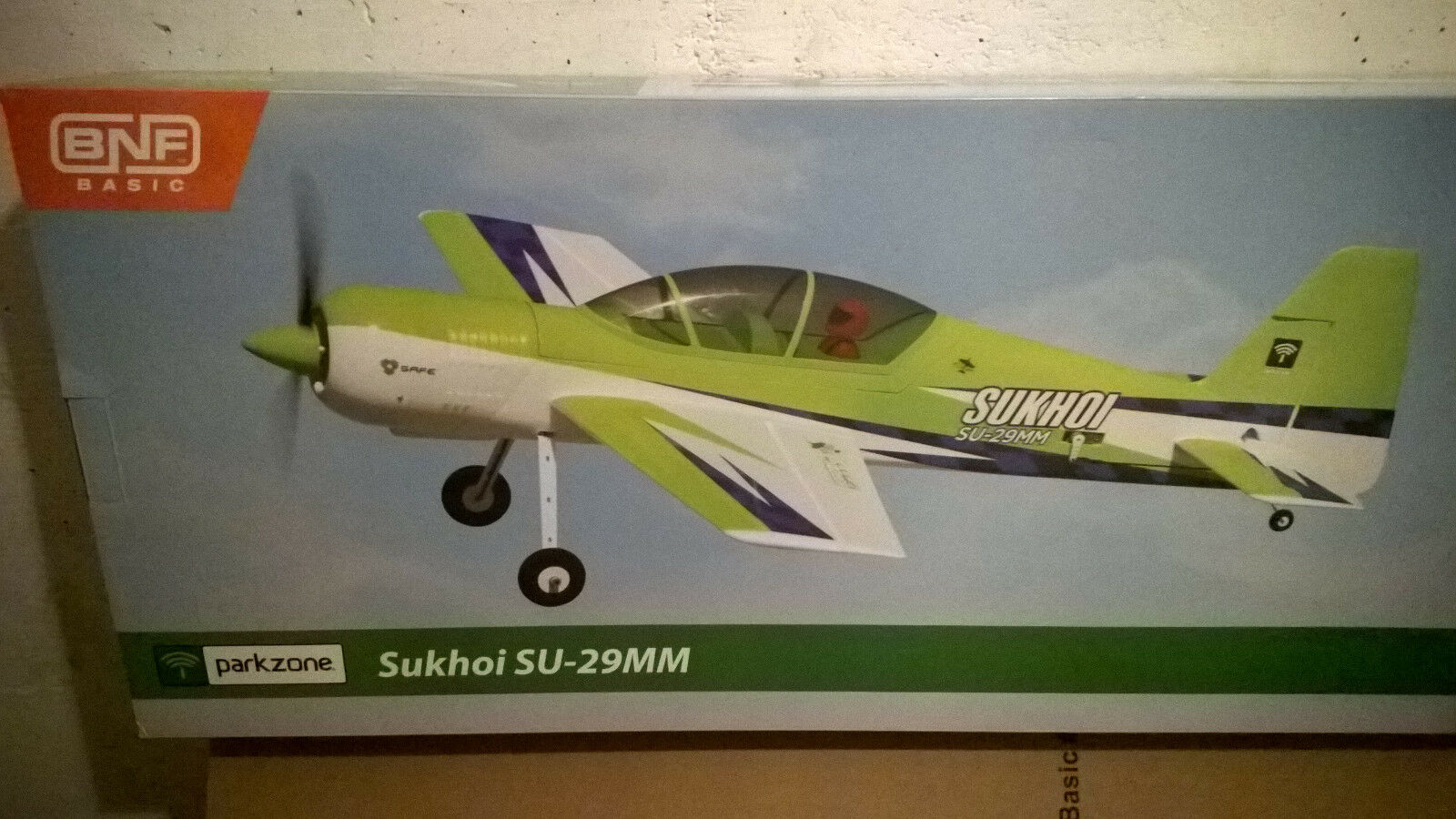 AEREO R C E-flite PARKZONE Sukhoi 26MM BNF BASIC SAFE SYSTEM WITH GYROSCOPE