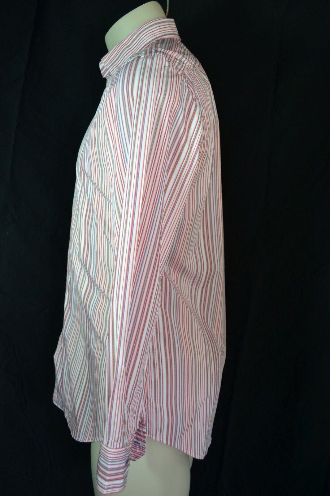 PAUL SMITH LONDON Herren Ober Hemd Hemd Hemd 39 M neu men shirt chemise  NEW cotton BW | Professionelles Design  2e8b89