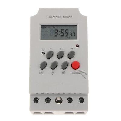 Zeitrelaisschalter Zeitsteuerung Support-Zeitsteuerung Verz/ögerung ASHATA DC 12 V Digitale Zeitrelaisplatine,1500 W 10 A Zeitrelaismodul Cycle Timer Digitale LED-Doppelanzeige