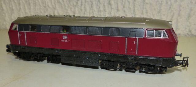 Märklin 3075 Diesellok BR 216 025-7 DB H0 mit Kunststoff Bruch