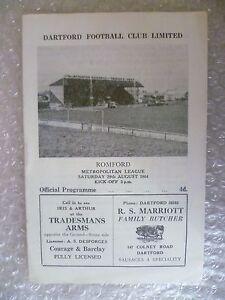 1964-DARTFORD-v-ROMFORD-29th-Aug-Metropolitan-League