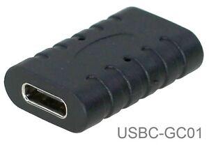 Image is loading USB-3-1-Type-C-Female-to-Female-