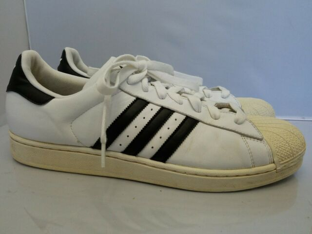 finest selection 93681 15816 ADIDAS Originals Superstar II G17068 Mens White Black Shell Toe Shoes Size  14 M
