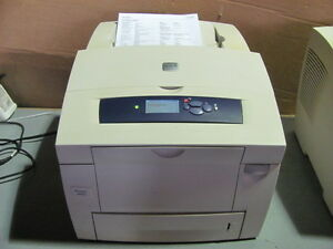 XEROX PHASER 8560N THERMAL COLOR NETWORK PRINTER 14K pages
