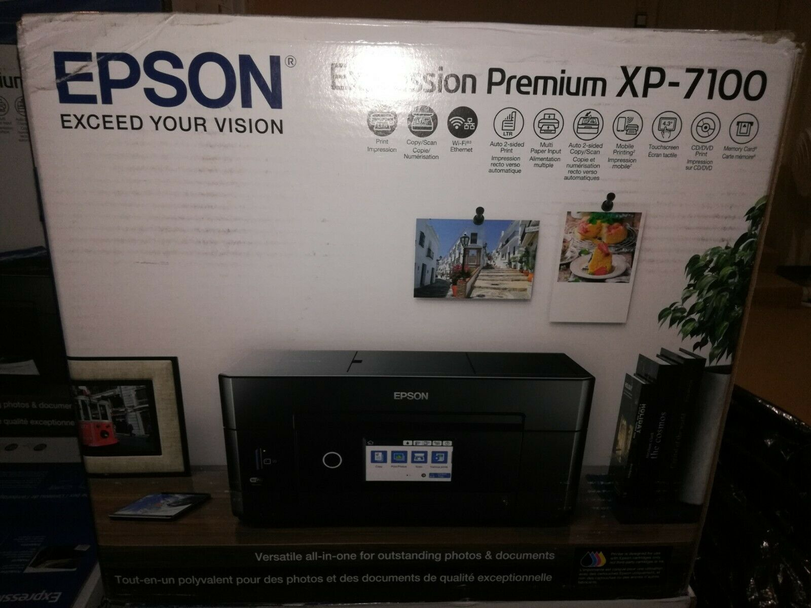 Brand New Epson Expression Premium XP-7100 all-in-one Printer. Buy it now for 184.95