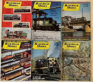 RAILROAD-MODEL-CRAFTSMAN-MAGAZINE-LOT-OF-12-FROM-1969-1974