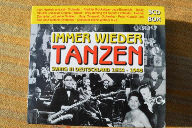 3 CD BOX. IMMER WIEDER TANZEN. SWING IN DEUTSCHLAND 1934-1948