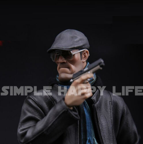 1//6 scale leather Lvy Hat Peaked Cap for hot toys phicen figure ❶US seller❶