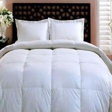 Bed In A Bag Luxury Goose Down Alt. Comforter-Duvet Insert Queen-Overfilled NEW
