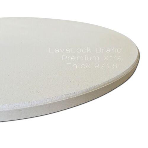 "LavaLockⓇ 14/"" Pizza Baking Stone THICK for Large Big Green Egg Kamado Joe 9//16/"""