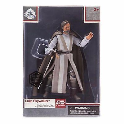 Star Wars Elite Series Diecast Master Luke Skywalker 2017 The Last Jedi