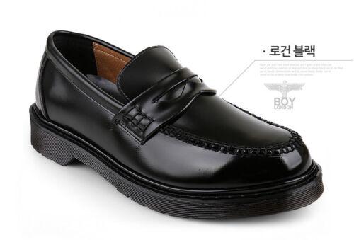 Krystalsb boylondon Corée fait Homme Penny Mocassins Mariage Fête Chaussures US7 ~ 12