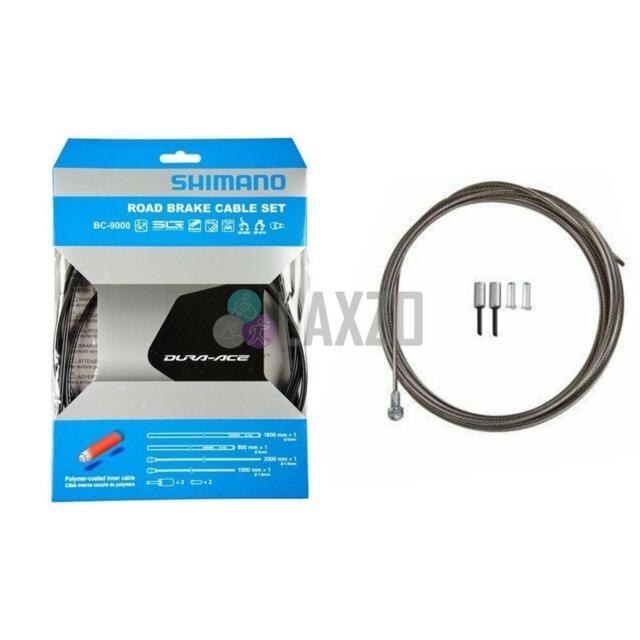 SHIMANO BC-9000 ROAD BRAKE CABLE SET BLACK  BRAND NEW Y8YZ98010
