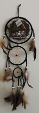"Mandela Native American 6"" Horse Dream Catcher Feathers Wall hanging  Picture"