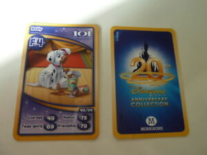 MORRISONS CARD  DISNEYLAND PARIS 20th ANNIVERSARY COLLECTIONF4ROLLY - sheffield, United Kingdom - MORRISONS CARD  DISNEYLAND PARIS 20th ANNIVERSARY COLLECTIONF4ROLLY - sheffield, United Kingdom