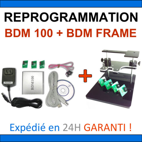 BDM FRAME PACK REPROGRAMMATION MULTIMARQUES Renault Peugeot BMW BDM 100