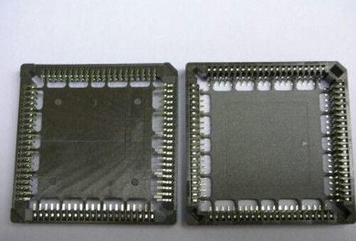 2PCS Surface Mount PLCC IC Socket 84 Pin SMT SMD Base 63