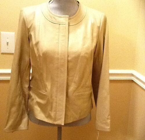 Price Ret 00 Alfani 274 Jacket Leather Colored Cream XI0Ax
